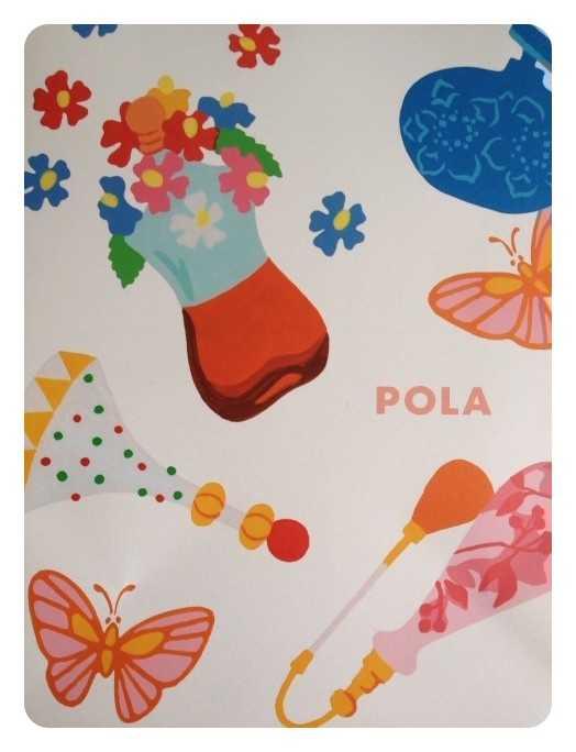 香水瓶をたくさん描いたよ:POLAのペーパーバッグ_d0339885_13485915.jpg