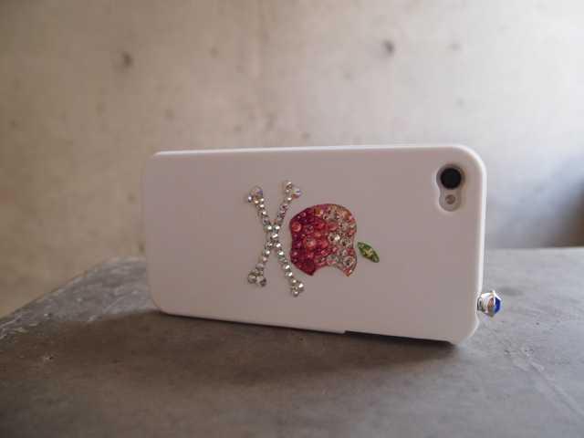 iPhone4Sもスワロフスキーのカバーにした♪_d0339885_13491365.jpg