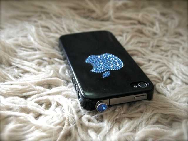 クリスタルアップル:スワロフスキーでiPhoneをバースデー仕様_d0339885_13493856.jpg