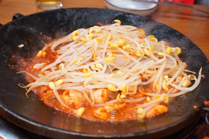 2015年春ソウル旅レポ 最終回 辛くておいしいチュクミフォンデュをカロスキルの「オチュ」で_a0223786_1614398.jpg
