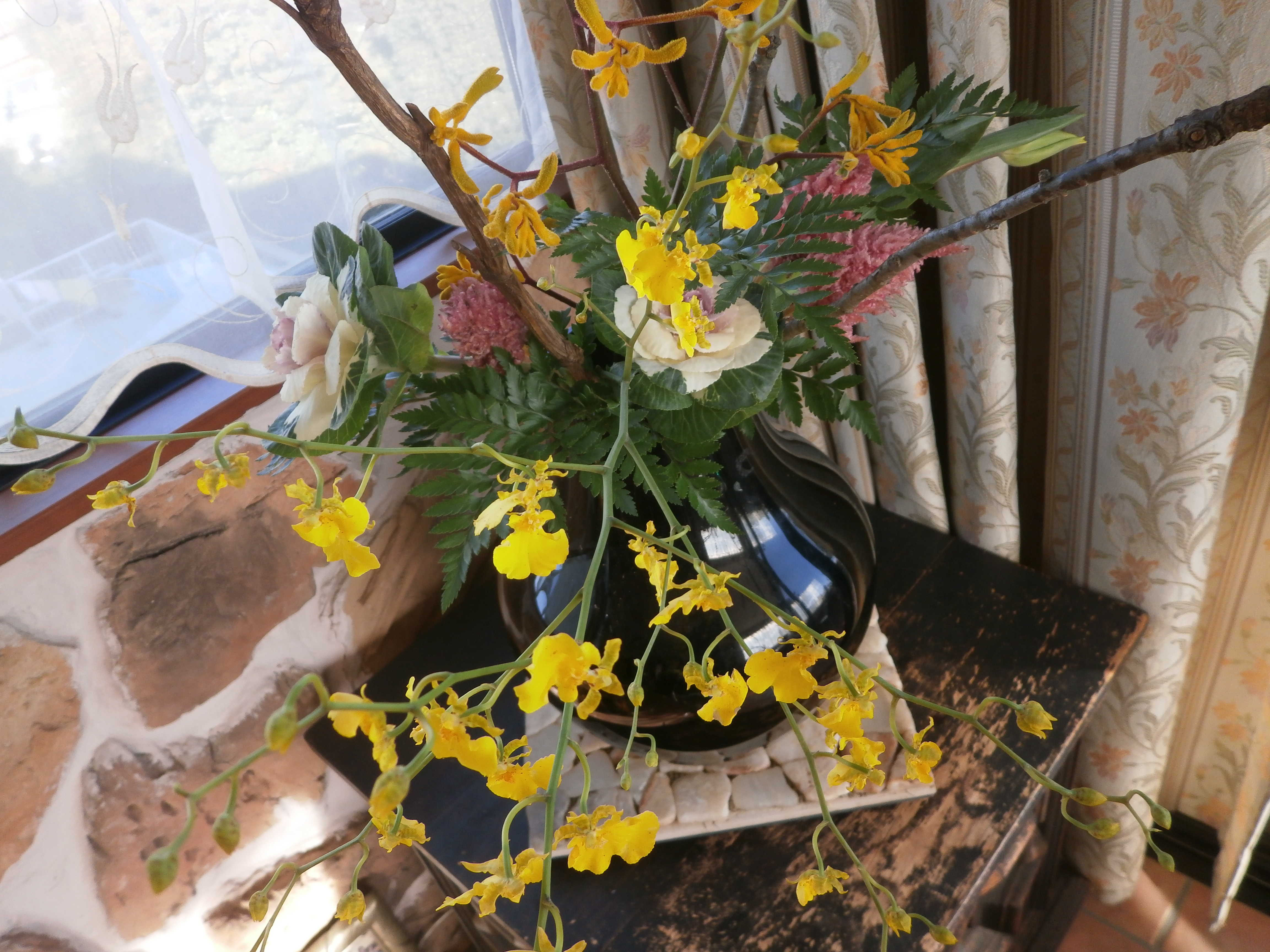 今年最後のお花のお稽古_d0339890_12210175.jpg