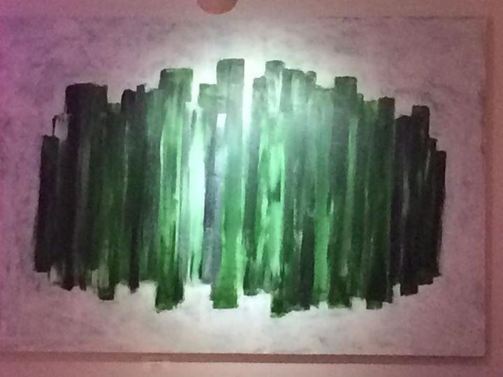 スタイリッシュなバーレストランへの作品 Decoration for stylish Bar & Restaurant_d0235101_13195640.jpg