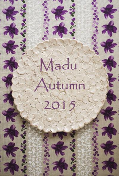Maduさんの菫ブローチとポストカード_d0051613_2336829.jpg