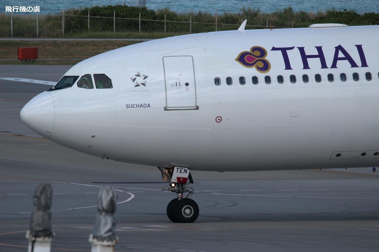 タイ国際航空(TG)のチャーター便_b0313338_00111537.jpg