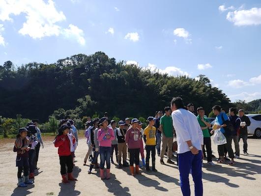 お子様向けイベント「稲刈り体験」を実施しました。_d0284244_1749719.jpg