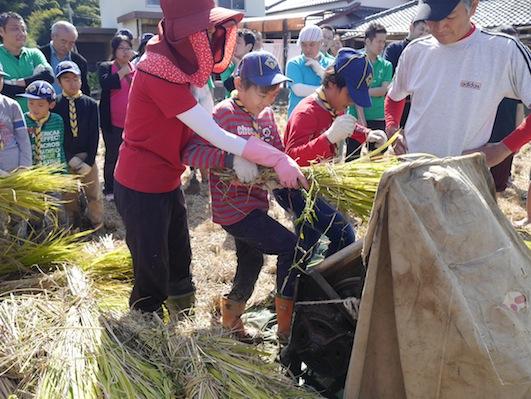 お子様向けイベント「稲刈り体験」を実施しました。_d0284244_17521481.jpg