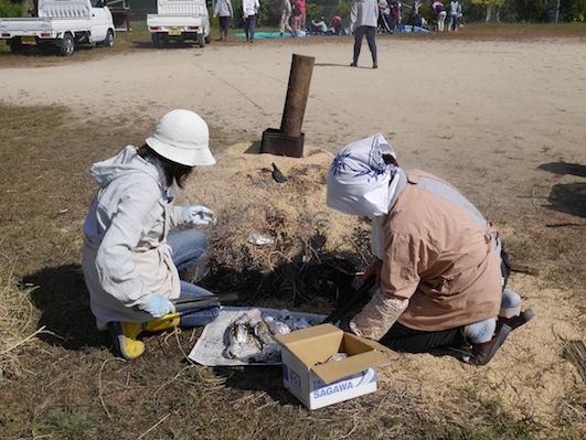 お子様向けイベント「稲刈り体験」を実施しました。_d0284244_17525752.jpg