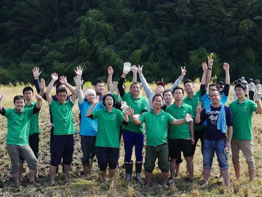 お子様向けイベント「稲刈り体験」を実施しました。_d0284244_17531178.jpg