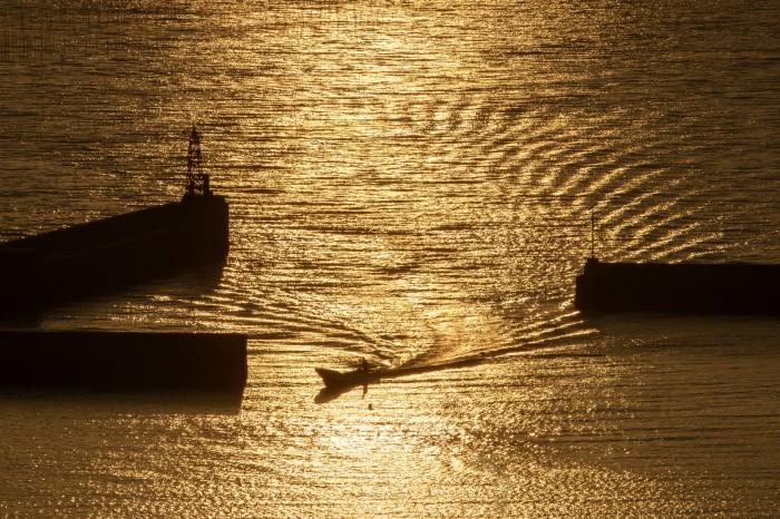 有明海の夕暮れ_d0238245_22222448.jpg