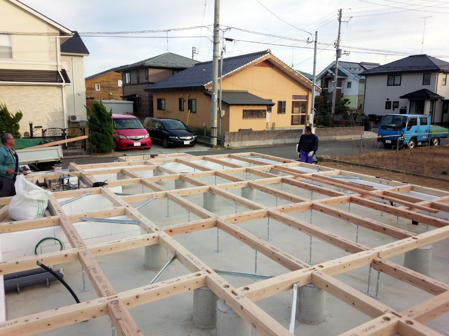 A様邸「新山前の家」工事中です。_f0150893_1603088.jpg
