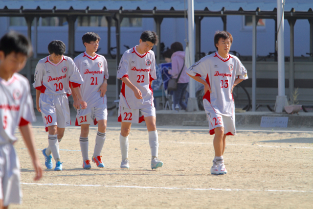 U-18 祝・初公式戦@M3: vs 仙台南高校 October 18, 2015_c0365198_00082180.jpg