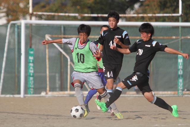 U-18 祝・初公式戦@M3: vs 仙台南高校 October 18, 2015_c0365198_00380841.jpg