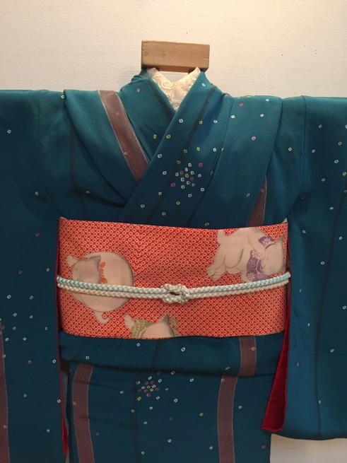 「今昔きもの市」藤着物・ドット鹿の子着物♪販売商品14_c0321302_00414010.jpg