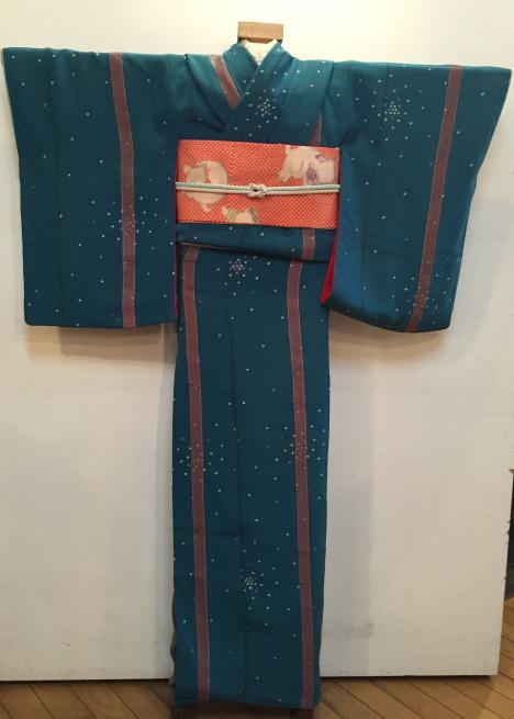 「今昔きもの市」藤着物・ドット鹿の子着物♪販売商品14_c0321302_00420017.jpg