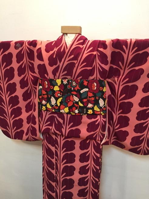 「今昔きもの市」藤着物・ドット鹿の子着物♪販売商品14_c0321302_00441848.jpg