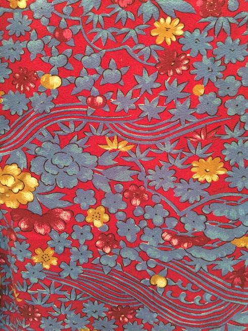 「今昔きもの市」臙脂青花尽くし着物・更紗模様着物♪販売商品17_c0321302_01115236.jpg