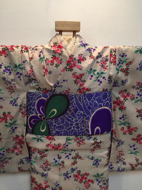 「今昔きもの市」白小花紬・水色椿着物♪販売商品18_c0321302_01164524.jpg
