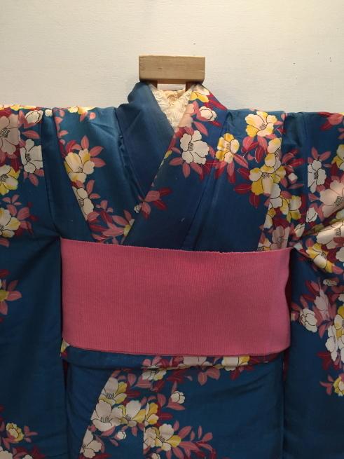 「今昔きもの市」白小花紬・水色椿着物♪販売商品18_c0321302_01173262.jpg