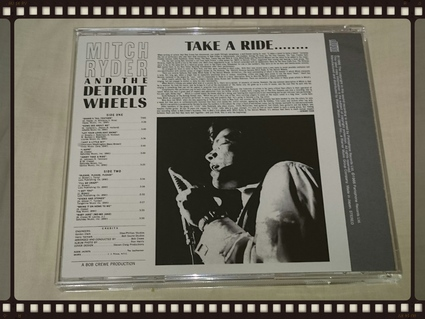 MITCH RYDER AND THE DETROIT WHEELS / TAKE A RIDE............_b0042308_0125158.jpg