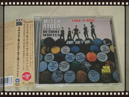 MITCH RYDER AND THE DETROIT WHEELS / TAKE A RIDE............_b0042308_0125170.jpg