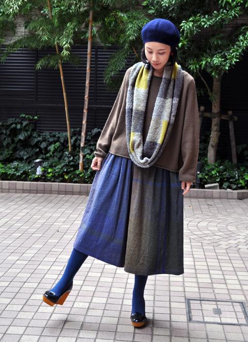 wide pants&powan skirt(wool) / tamaki niime_d0193211_17301713.jpg