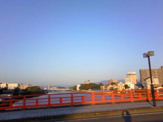 今日は高知最終日(思い出の天神大橋)_b0255217_09395482.jpg