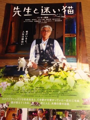 映画 先生と迷い猫_c0006826_14122738.jpg
