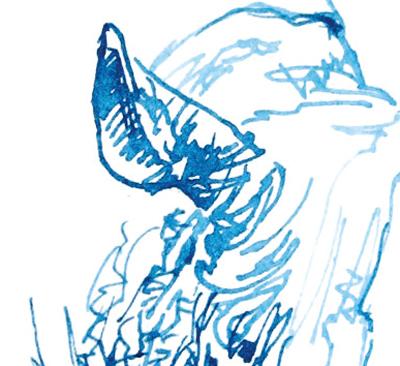 きょうのCAFE Zoo〜弘法も筆を選ぶやガラスペン_a0017350_06500175.jpg