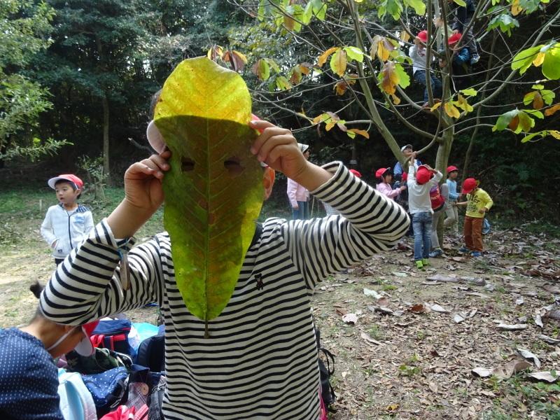 淡輪小学校1年生遠足サポート「里山体験」  in うみべの森_c0108460_22272487.jpg