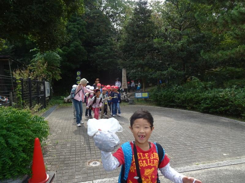 淡輪小学校1年生遠足サポート「里山体験」  in うみべの森_c0108460_22312117.jpg