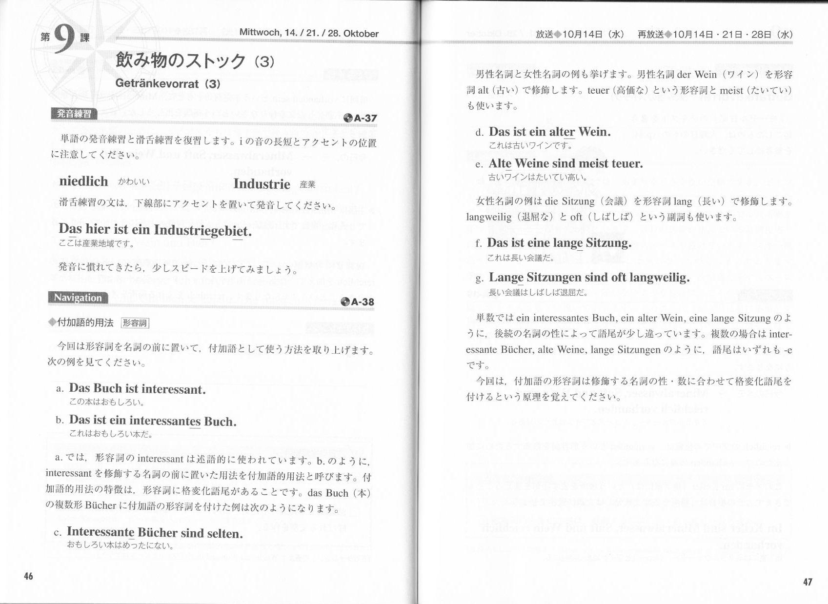 独スト2 -「必携ドイツ文法総まとめ」で形容詞変化の謎を解く(15年10月22