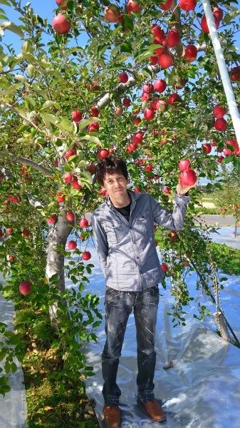 リンゴ園見学🍎_c0090212_21260793.jpg