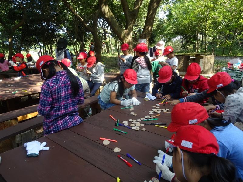 東光小学校4年生遠足「里山体験」サポート in うみべの森_c0108460_21260229.jpg