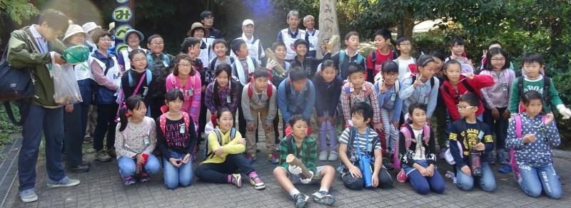 東光小学校4年生遠足「里山体験」サポート in うみべの森_c0108460_22091383.jpg