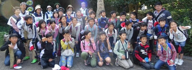 東光小学校4年生遠足「里山体験」サポート in うみべの森_c0108460_22091733.jpg