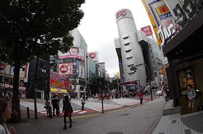 10月23日(金)今日の渋谷109前交差点_b0056983_12064347.jpg