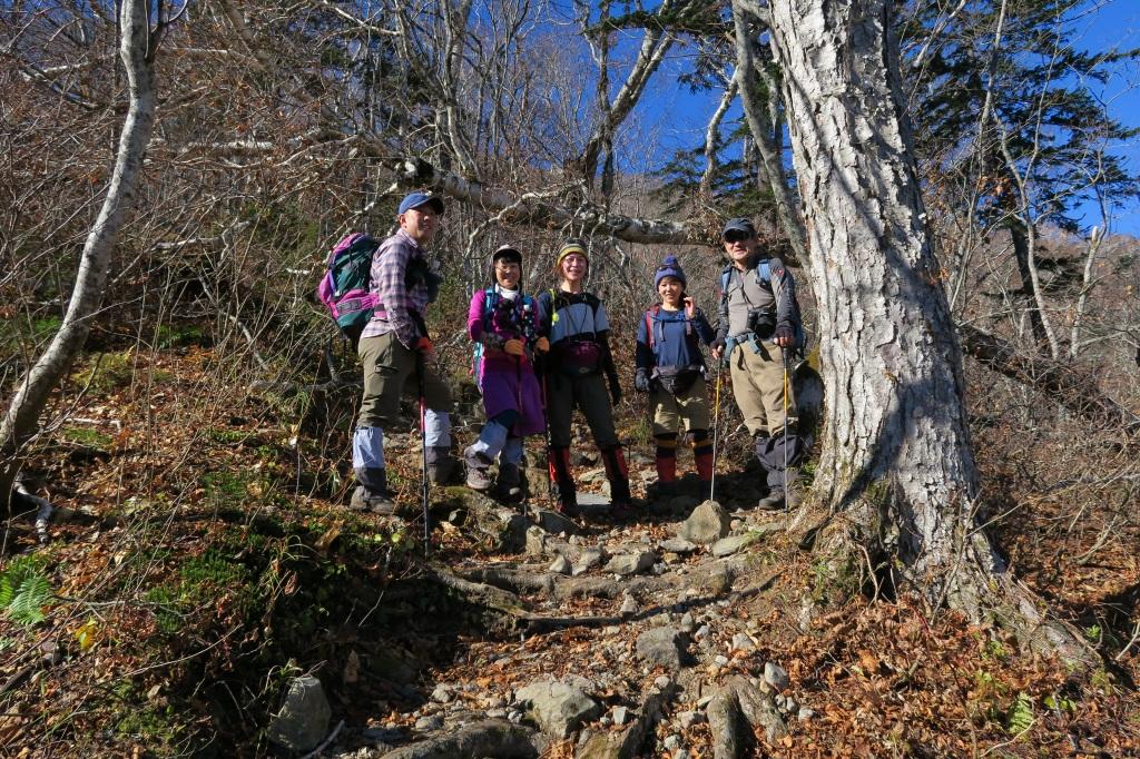 恵庭岳西峰と本峰、10月22日-西峰まで編-_f0138096_14273746.jpg