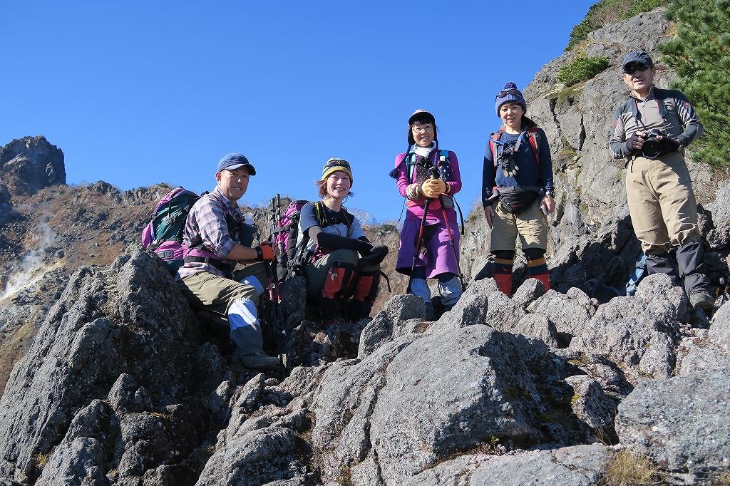 恵庭岳西峰と本峰、10月22日-西峰まで編-_f0138096_14275897.jpg