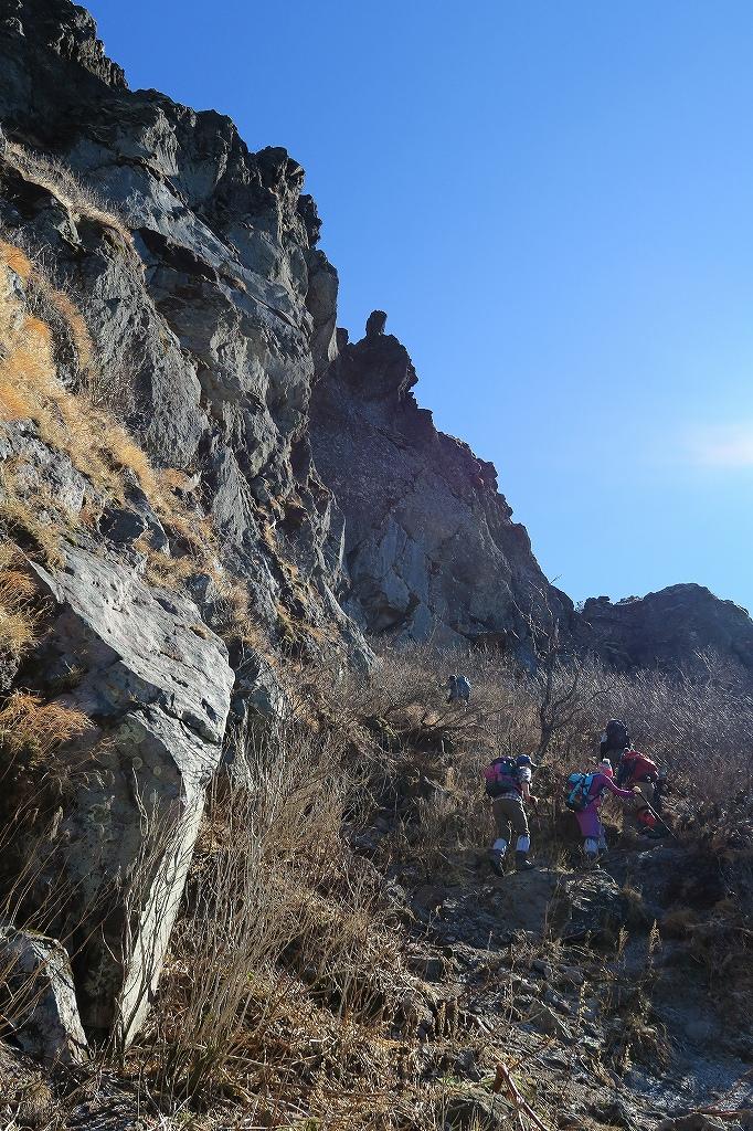 恵庭岳西峰と本峰、10月22日-西峰まで編-_f0138096_14281934.jpg