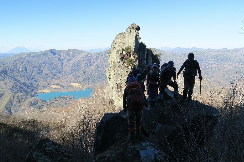 恵庭岳西峰と本峰、10月22日-西峰まで編-_f0138096_1428923.jpg