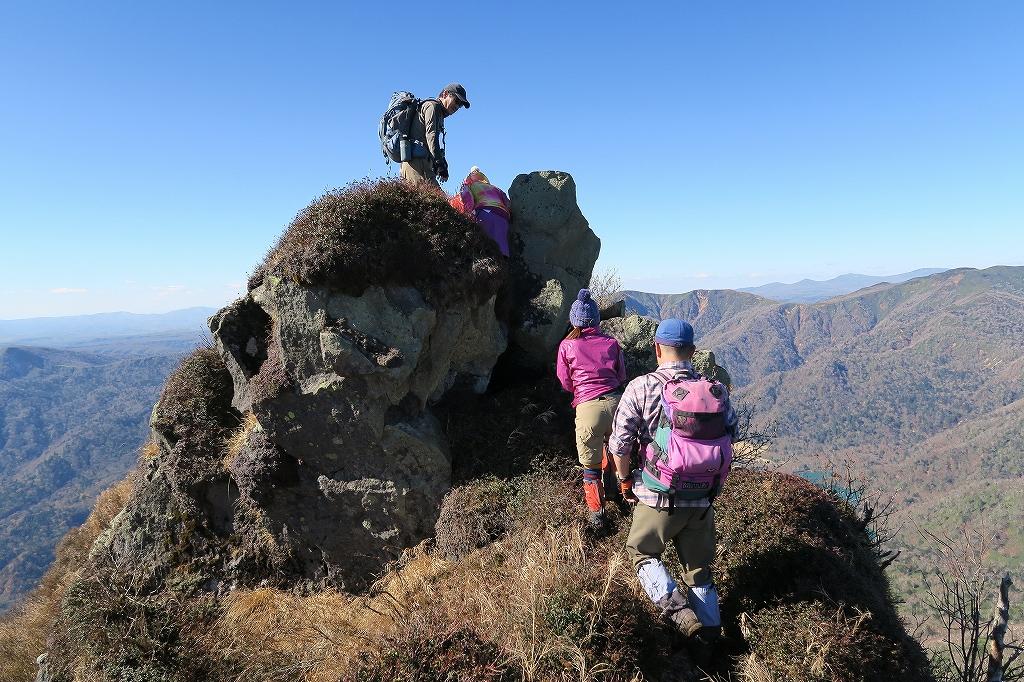恵庭岳西峰と本峰、10月22日-西峰まで編-_f0138096_14291746.jpg