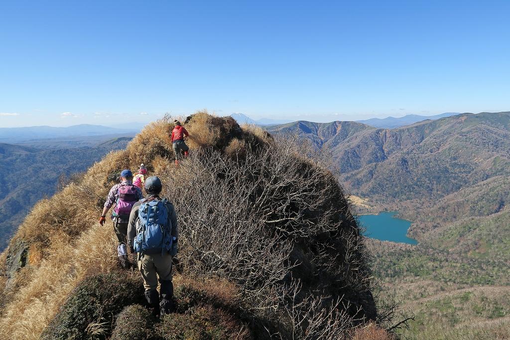 恵庭岳西峰と本峰、10月22日-西峰まで編-_f0138096_14292669.jpg