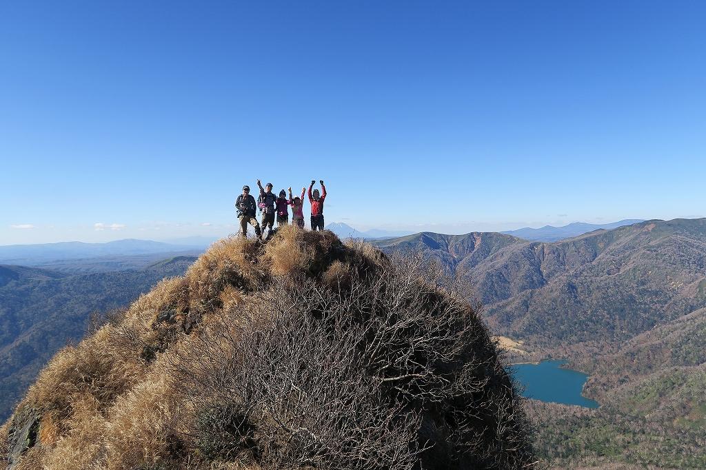 恵庭岳西峰と本峰、10月22日-西峰まで編-_f0138096_14293757.jpg