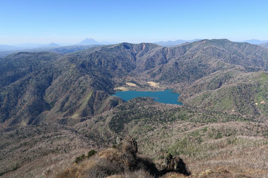 恵庭岳西峰と本峰、10月22日-西峰まで編-_f0138096_14294686.jpg