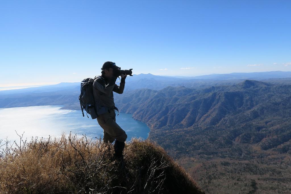 恵庭岳西峰と本峰、10月22日-西峰まで編-_f0138096_14295526.jpg