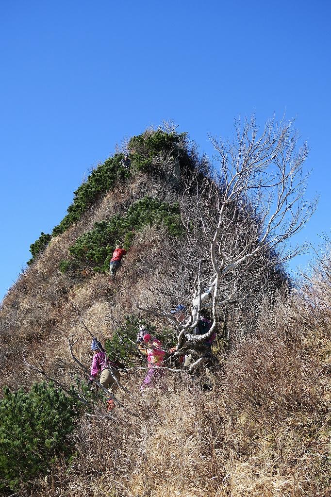 恵庭岳西峰と本峰、10月22日-西峰まで編-_f0138096_1429789.jpg