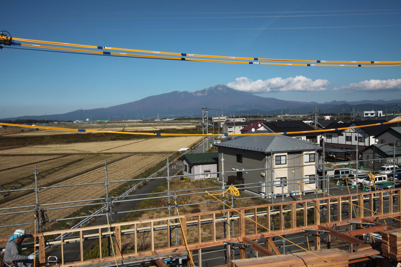 酒田エコ某医院:建て方_e0054299_11462434.jpg