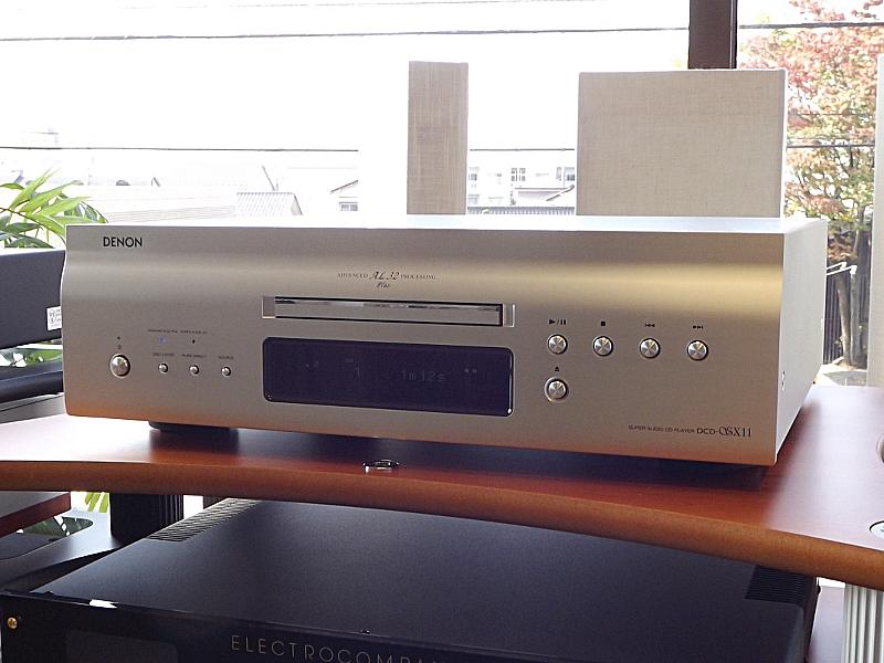 DENON今月発売の新製品 DCD-SX11とPMA-SX11がご試聴可能です!  ※終了しました。_c0113001_1549282.jpg