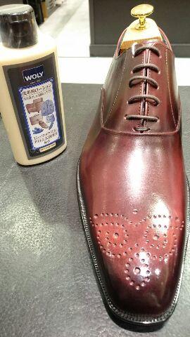 二色以上ある靴のクリームは…?_b0226322_20272561.jpg