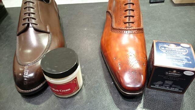 二色以上ある靴のクリームは…?_b0226322_20471114.jpg